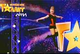 14-year-old Maria Shevchenko - Acrobatic Dance - Ukraine's Got Talent