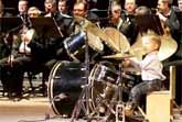 3 Year Old Drummer Plays With Symphony Orchestra