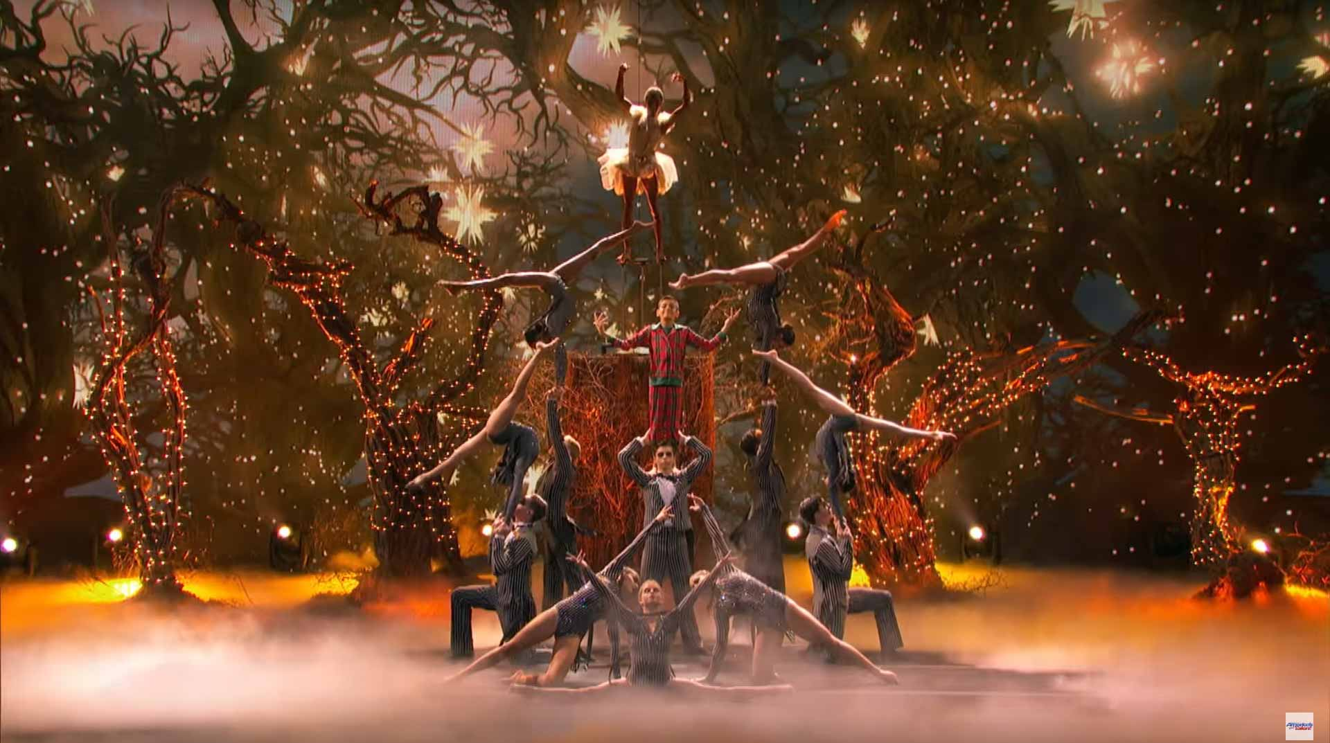 Americas Got Talent Christmas.Acroarmy Delivers Acrobatic Christmas Act America S Got Talent