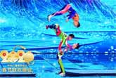 Amazing Chinese Acrobatic Troupe Performs at the Spring Festival 2020