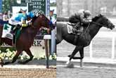 American Pharoah (2015) vs. Secretariat (1973)