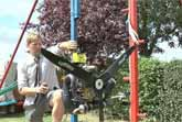 Backyard Inventor Adds A Propeller To His Giant 360° Swing