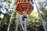 Bicycle-Powered Tree House Elevator