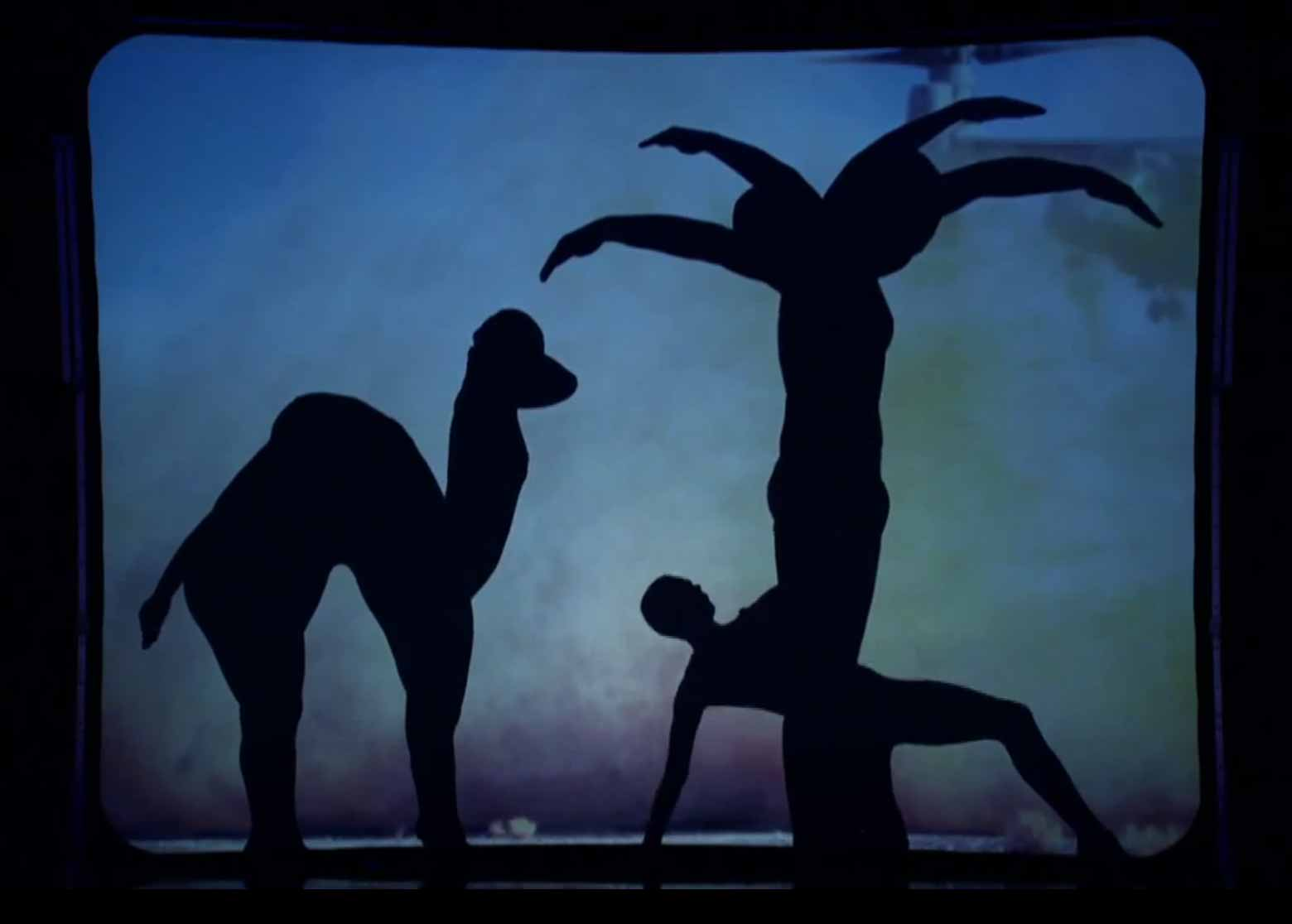 Britain's Got Talent: Shadow Theatre Group Attraction