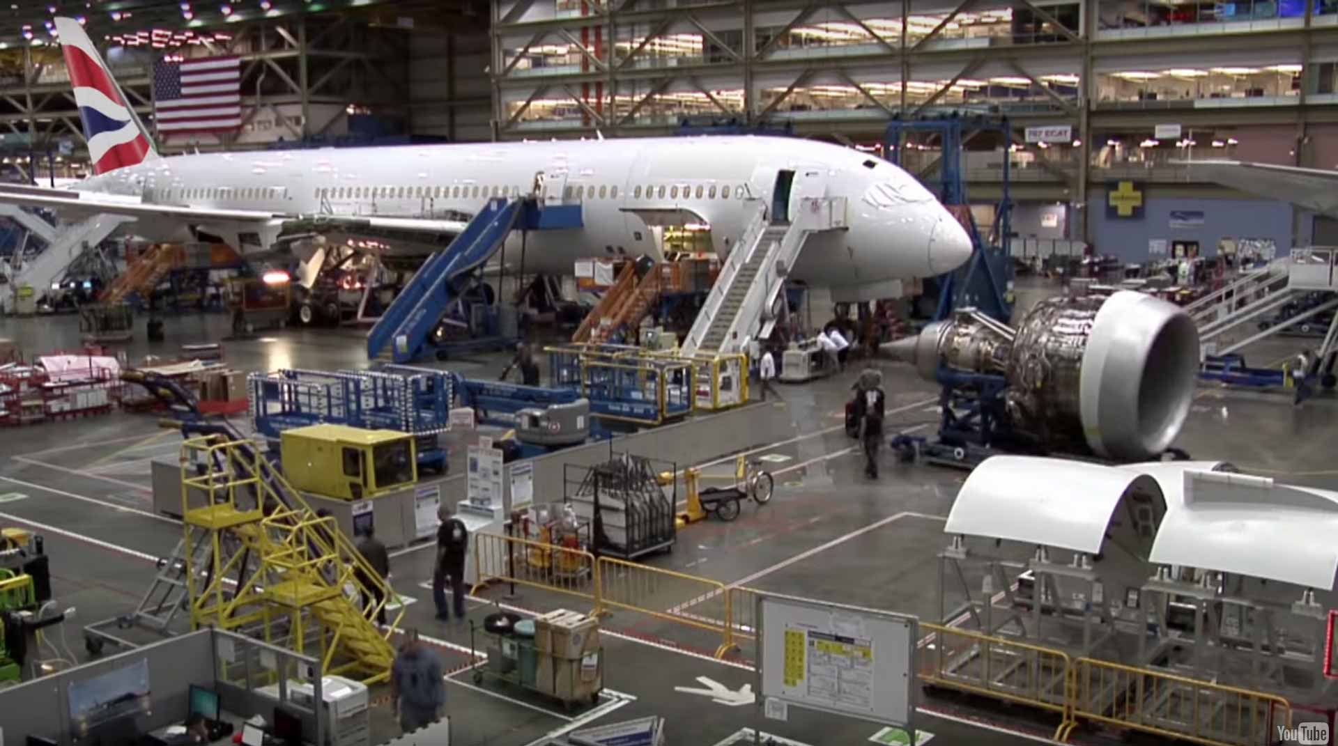 building the 787
