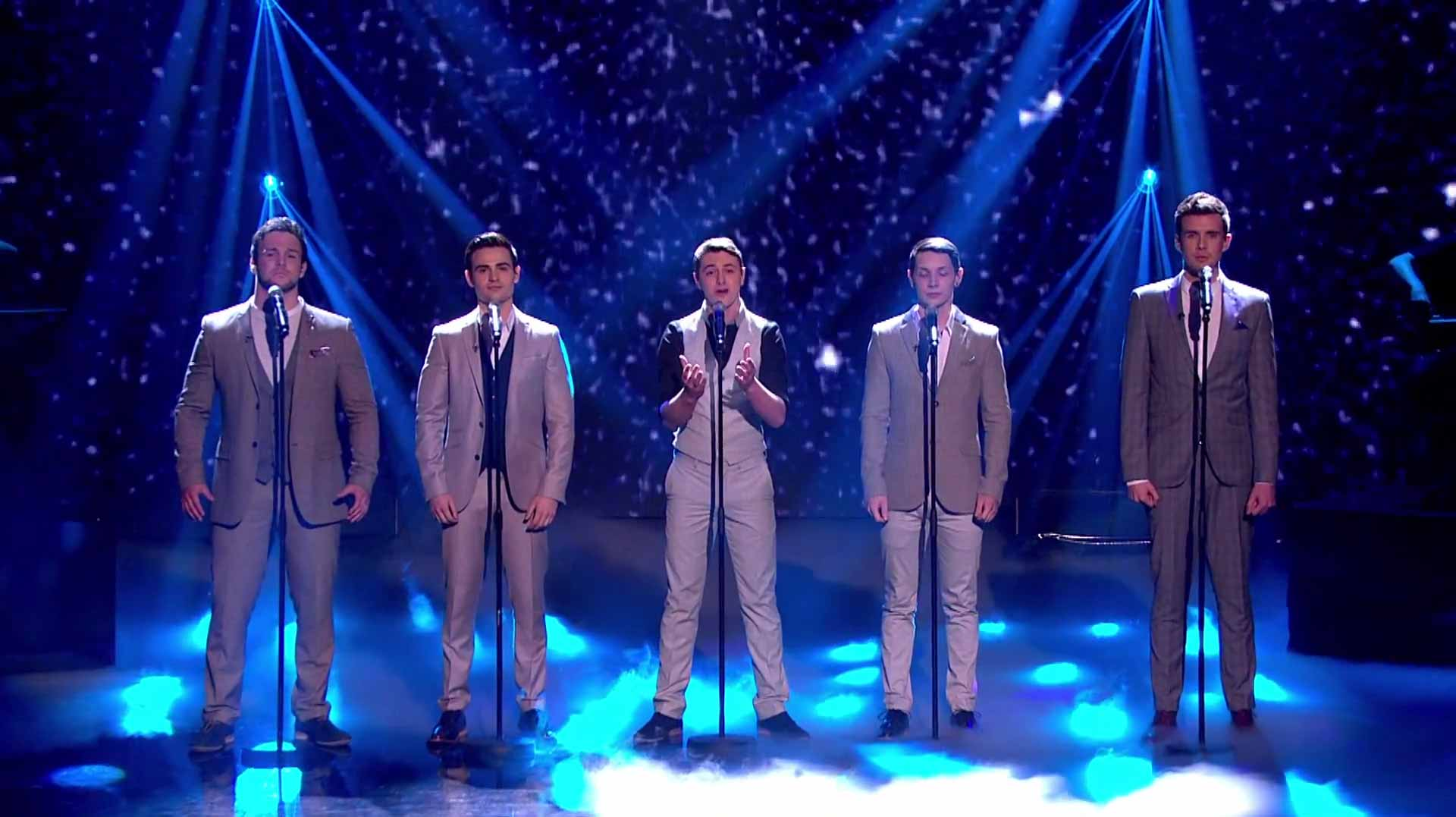Collabro Wins Britain's Got Talent 2014 with 'Stars' from