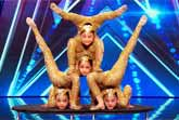 Contortion Girls - America's Got Talent