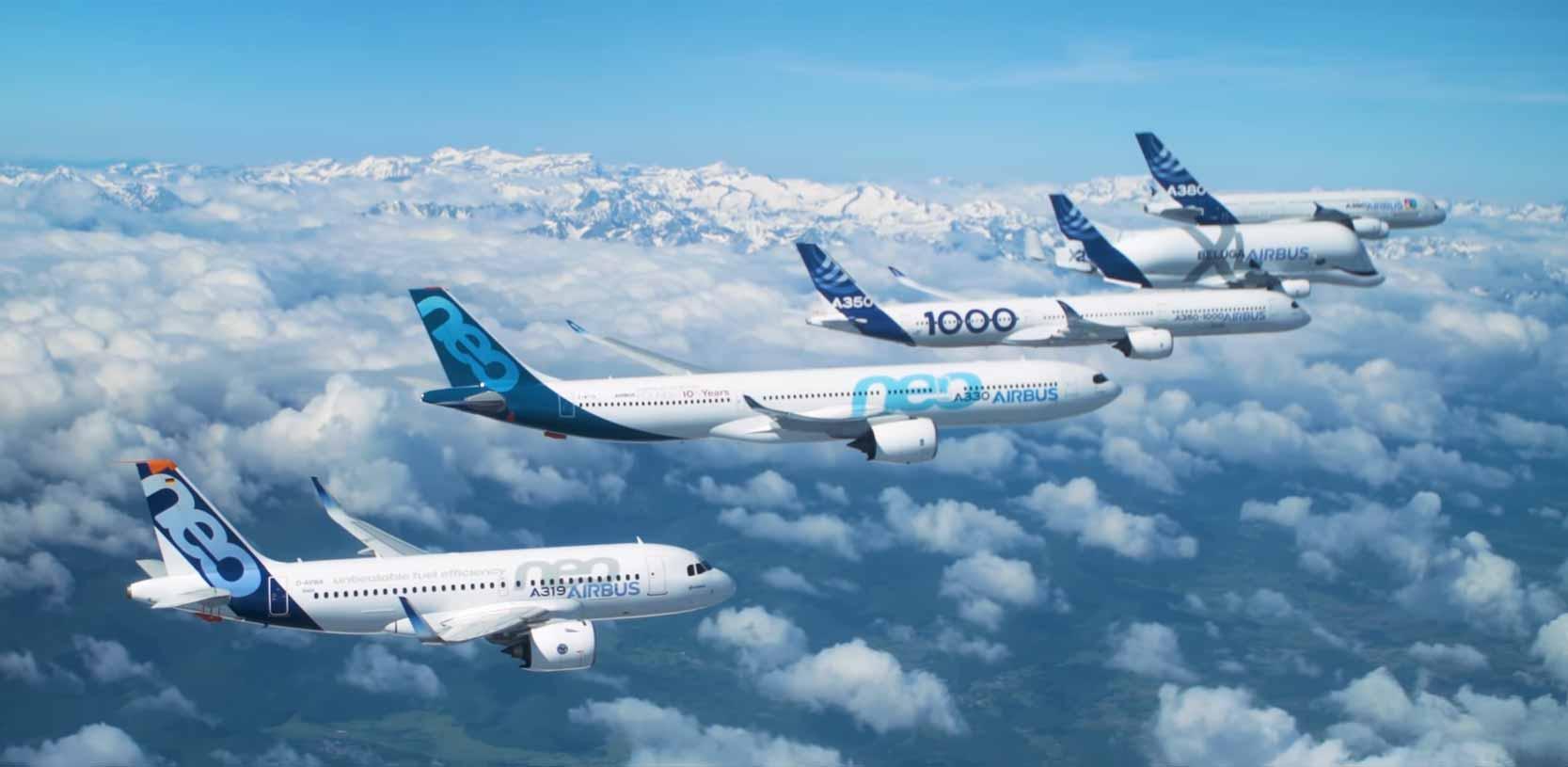 Resultado de imagen para Airbus fleet