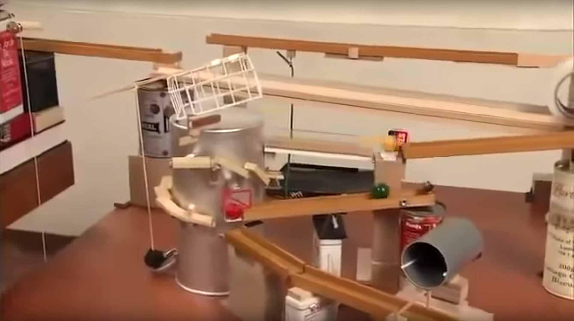 Epic Rube Goldberg Adventure. Flixxy Com Furniture   louisvuittonukonlinestore com