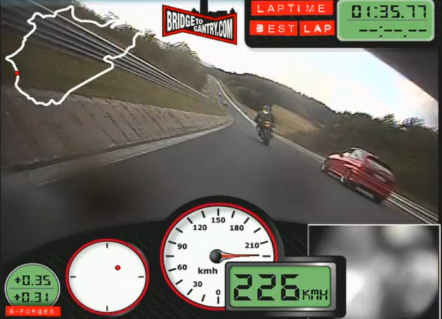 Fastest Bike N�rburgring