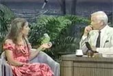 Johnny Carson & Laughing Parrot