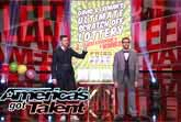 Magician Duo David and Leeman Predict Winning Lottery Numbers - America's Got Talent 2014