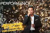 Marcelito Pomoy Sings 'Con Te Partirò' with Dual Voices - America's Got Talent