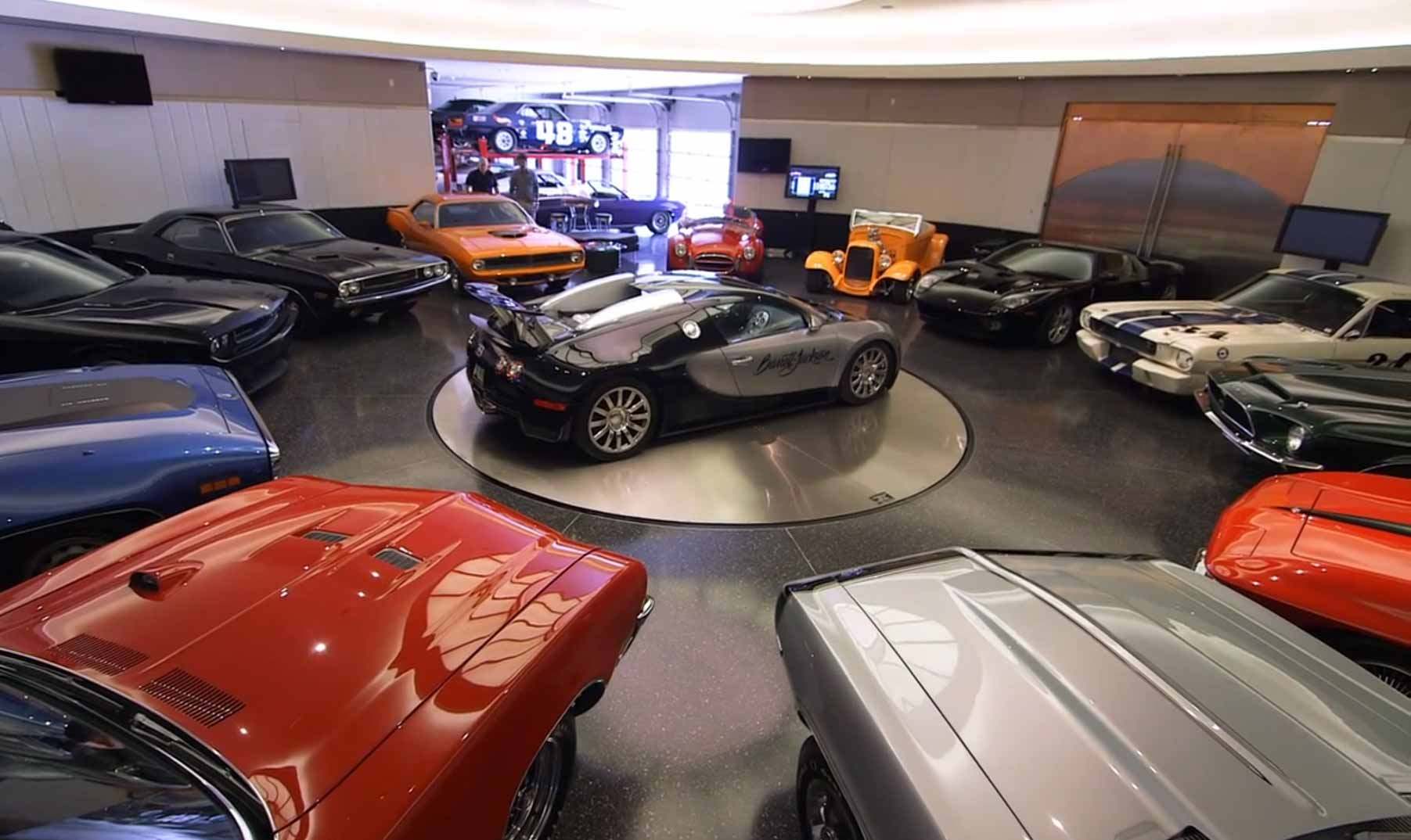 Million dollar garages bing images for Car turntable plans