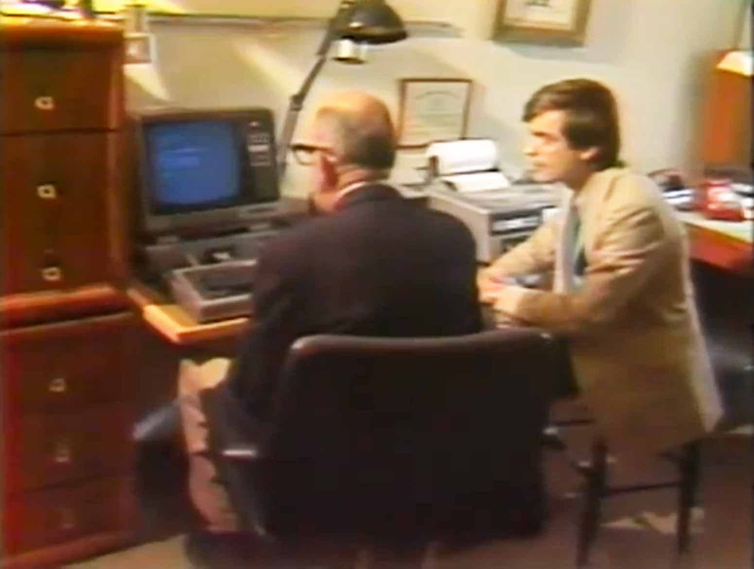 News Report From 1981 The Future Of Newspapers. Flixxy Com Furniture   louisvuittonukonlinestore com