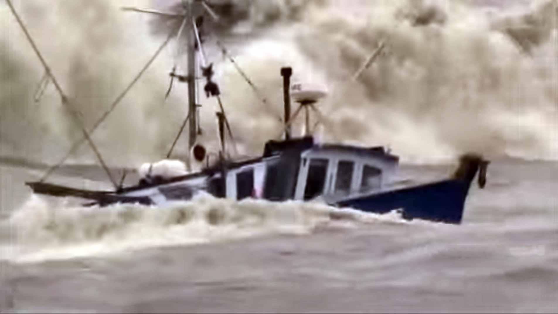 Ships In Rough Seas