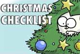 Simon's Cat's Christmas Checklist