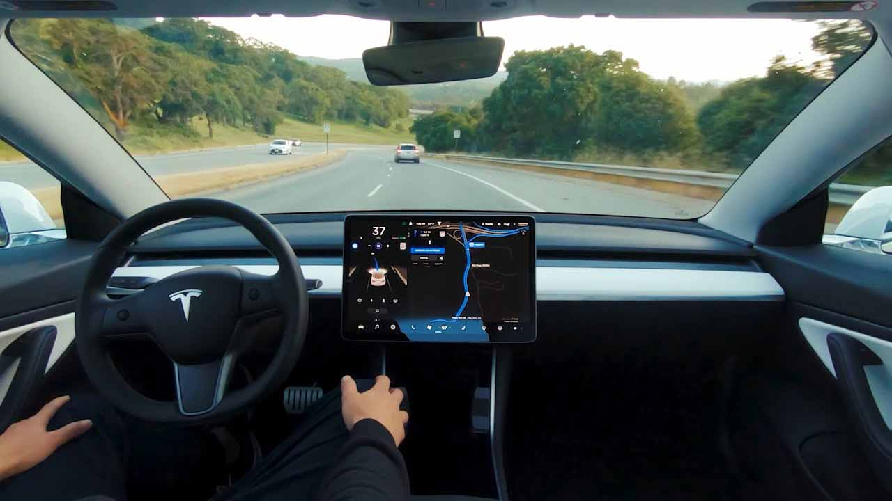 Tesla Model 3 - Full Self-Driving