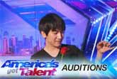 Will Tsai's Amazing Visual Magic - America´s Got Talent 2017