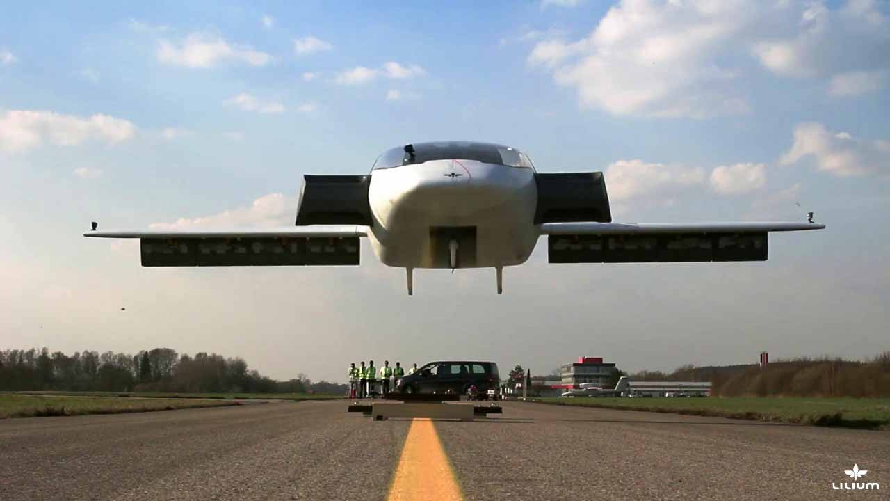 World's First Electric Vertical Takeoff And Landing Jet ...